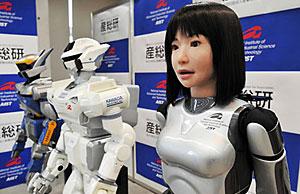 Look, robots!