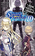Is It Wrong to Try to Pick Up Girls In a Dungeon? On the Side: Sword Oratoria, Vol. 10
