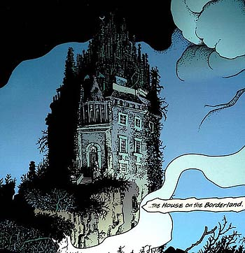 The house from a comics adaptation by the Richard Corben