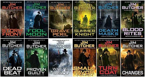 Image result for The Dresden Files