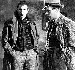 Harrison Ford and Humphry Bogart