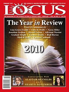 Locus Magazine, February 2011