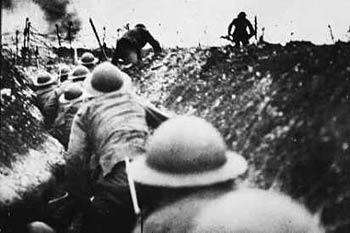Trench warfare in WWI
