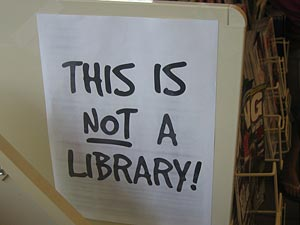 Not a library!