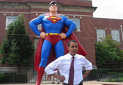 Obama/Superman