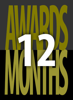2014  12 Awards in 12 Months