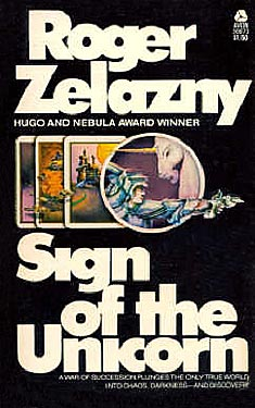 """Sign of the Unicorn"" cover"