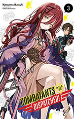 Combatants Will Be Dispatched!, Vol. 3